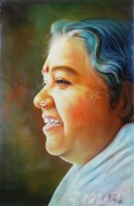 Fine art  - Mata Amrithanadmayiby ArtistBinu Perukavu