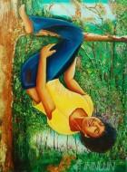 Fine art  - Maramkeri Mariaby ArtistBabitha Marina Justin