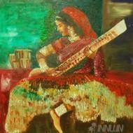 Fine art  - Gypsy Singerby ArtistBabitha Marina Justin