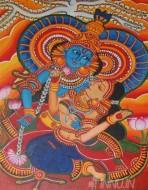 Fine art  - Krishna-Radhaby ArtistPooja Kashyap