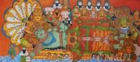 Fine art  - Ananthashayanam by ArtistPooja Kashyap