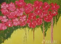 Fine art  - Love Bloomsby ArtistPooja Kashyap