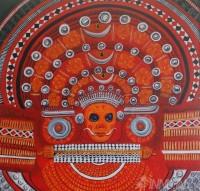 Fine art  - Theyyamby ArtistPooja Kashyap