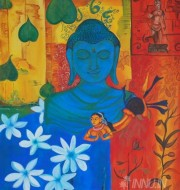 Fine art  - Introspectionby ArtistPooja Kashyap
