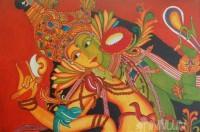 Fine art  - Ardhanareshwar by ArtistPooja Kashyap