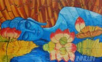 Fine art  - Reflection by Artist Pooja Kashyap