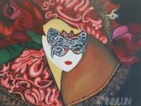 Fine art  - Veiled Emotionsby ArtistPooja Kashyap