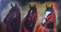 Fine art  - Horse by ArtistSuresh Dev