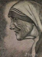 Fine art  - Mother Teresa by Artist