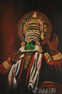 Fine art  - Kathakali 3by ArtistSuresh Dev
