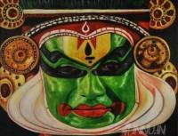 Fine art  - Kathakaliby ArtistSuresh Dev