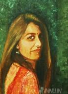Fine art  - Womanby ArtistBabitha Marina Justin