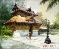 Fine art  - Kerala Templesby ArtistShankar Babu