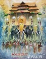 Fine art  - Thirissur Pooram Festivalby ArtistShankar Babu