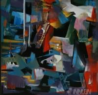 Fine art  - Sangarsham 7by ArtistB D Dathan