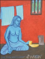 Fine art  - Smartha Vicharam by Artist Murali T