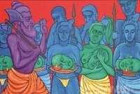 Fine art  - Thalappoli by ArtistMurali T
