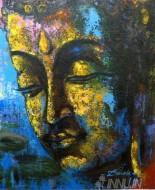 Fine art  - Buddha  by ArtistDinak Divakaran
