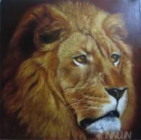 Fine art  - Lion by ArtistDinak Divakaran