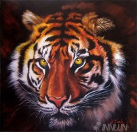 Fine art  - Tigerby ArtistDinak Divakaran