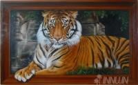 Fine art  - Tiger by ArtistDinak Divakaran