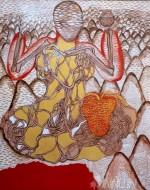 Fine art  - Alterbody series5by ArtistSajitha R Shankhar