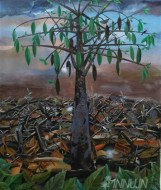 Fine art  - Elavu-1 by ArtistAshok Kumar G