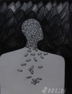 Fine art  - It came from within by ArtistJiji George