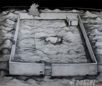 Fine art  - Fragmented Realityby ArtistJiji George