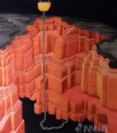 Fine art  - Strange sounds from above the skiesby ArtistJiji George