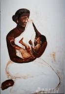 Fine art  - Mother and Childby ArtistUsha Ramachandran