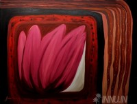 Fine art  - Caged Flower by Artist K Jayakumar