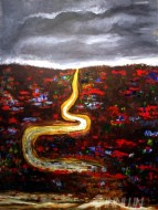 Fine art  - Journey by Artist K Jayakumar
