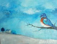 Fine art  - Distantby ArtistAsha Suresh