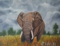 Fine art  - Majestic Solitude by ArtistAsha Suresh