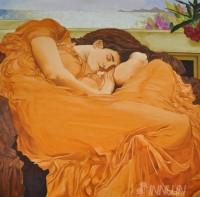 Fine art  - Women in Drapeby ArtistSai Kumar