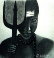 Fine art  - Ultimate Surrenderby ArtistKrishna Chandran