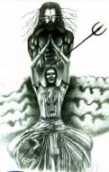 Fine art  - Shakthi Chalanamby ArtistKrishna Chandran