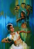Fine art  - Mohiniattam by ArtistSatish Nair