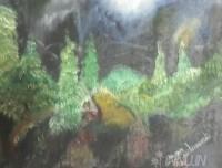 Fine art  - Untitled -2 by ArtistMoni Mulamcadu