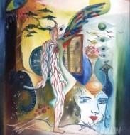 Fine art  - Above All by ArtistMoni Mulamcadu