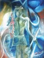 Fine art  - The Sea by ArtistMoni Mulamcadu