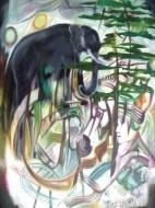 Fine art  - Untitled- 11 by ArtistMoni Mulamcadu