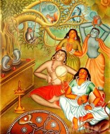Fine art  - Pulluvanpattuby ArtistAjesh K.K