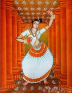 Fine art  - Mohiniyattamby ArtistAjesh K.K