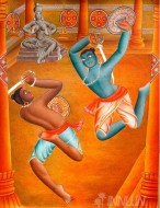 Fine art  -  Kalaripayattuby ArtistAjesh K.K