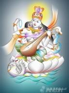 Fine art  - Saraswathiby ArtistAjesh K.K