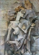 Fine art  - Girl with mandolin by Artist Pablo Picasso
