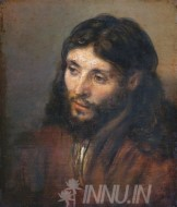 Fine art  - Head of Christ by ArtistRembrandt
