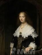Fine art  - Portrait of Maria Tripby ArtistRembrandt